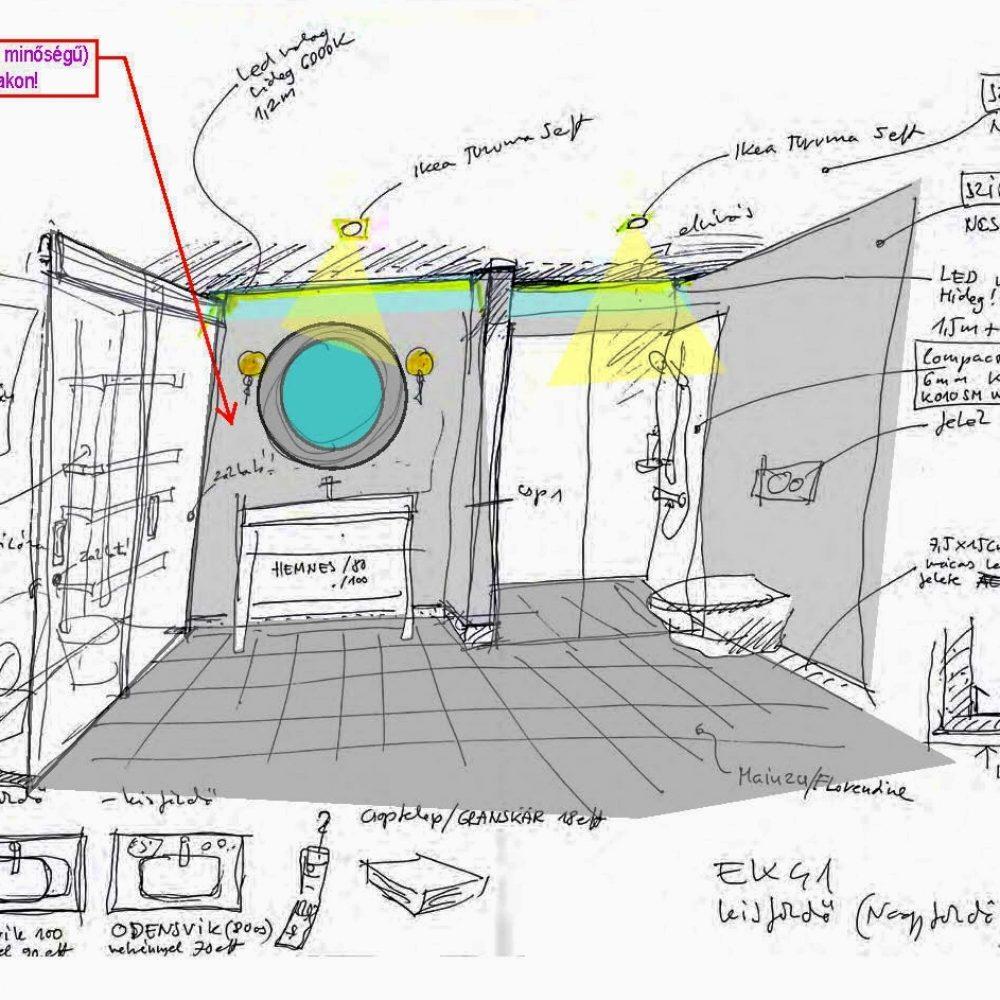 EK41 furdo sketch