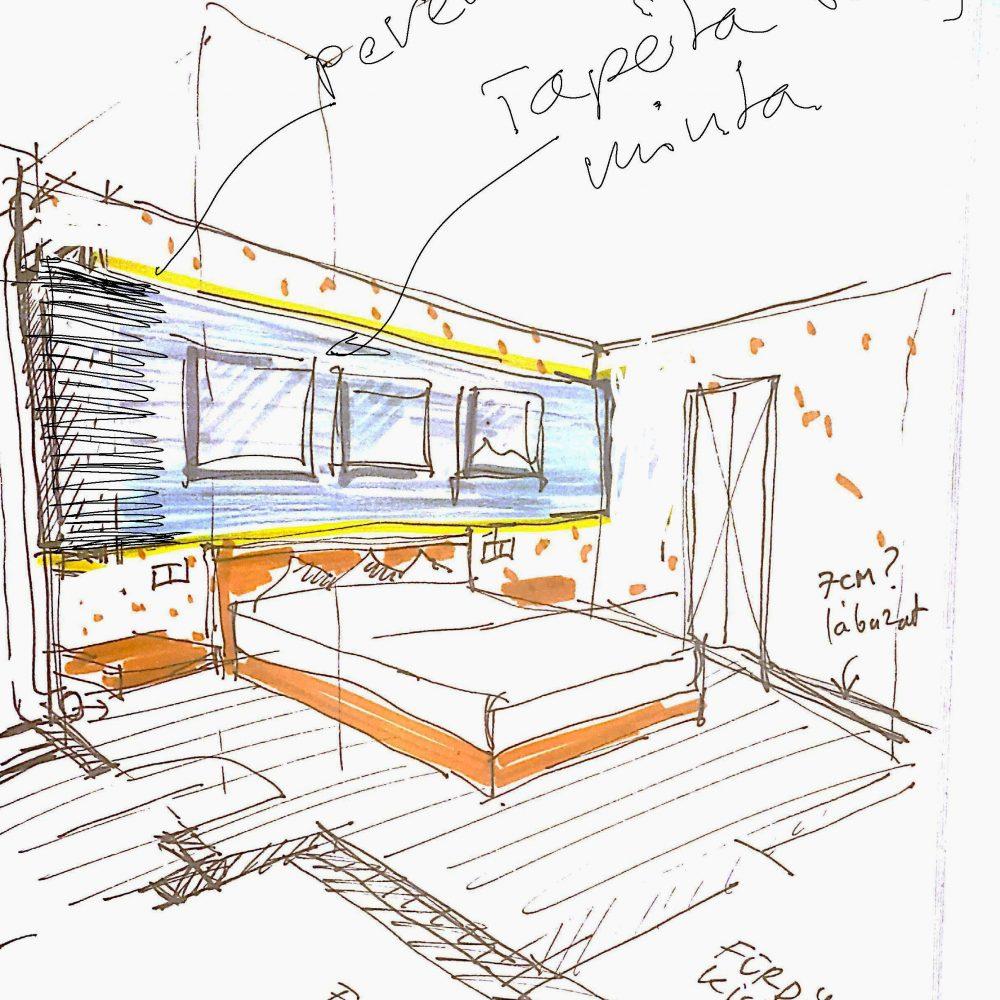 EK41 small room sketch