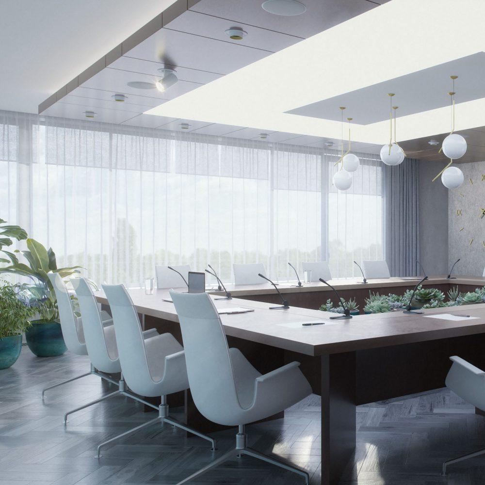 Vezetői iroda és tárgyalóterem átalakítása