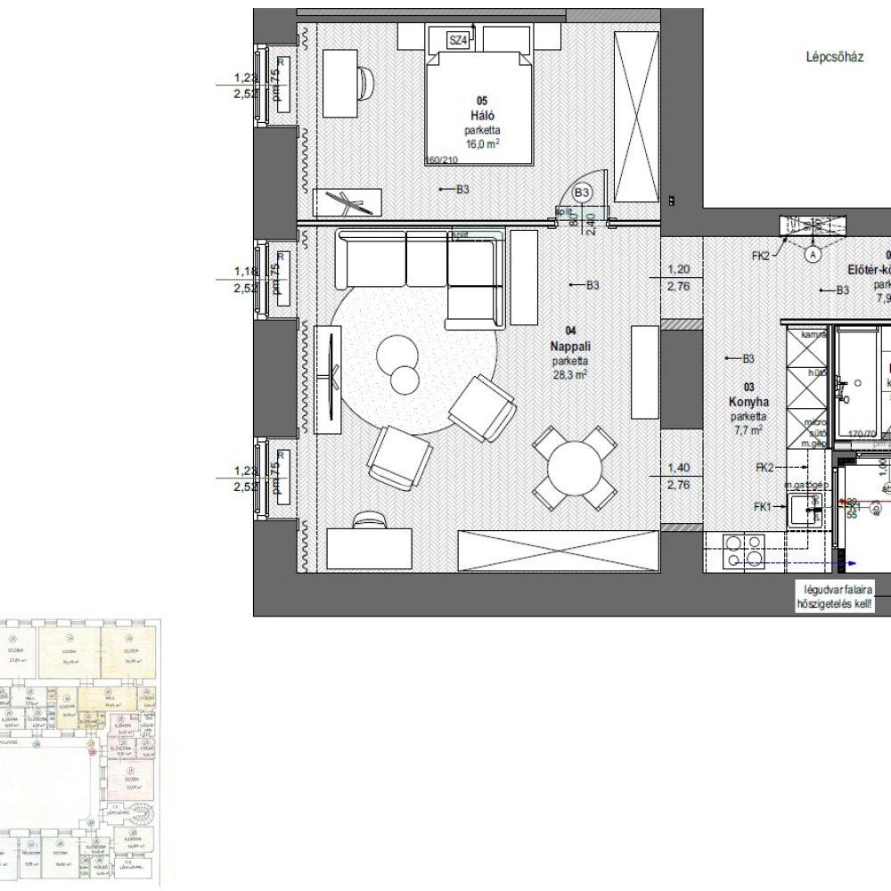 H21-2em_21 lakás_berendezési terv