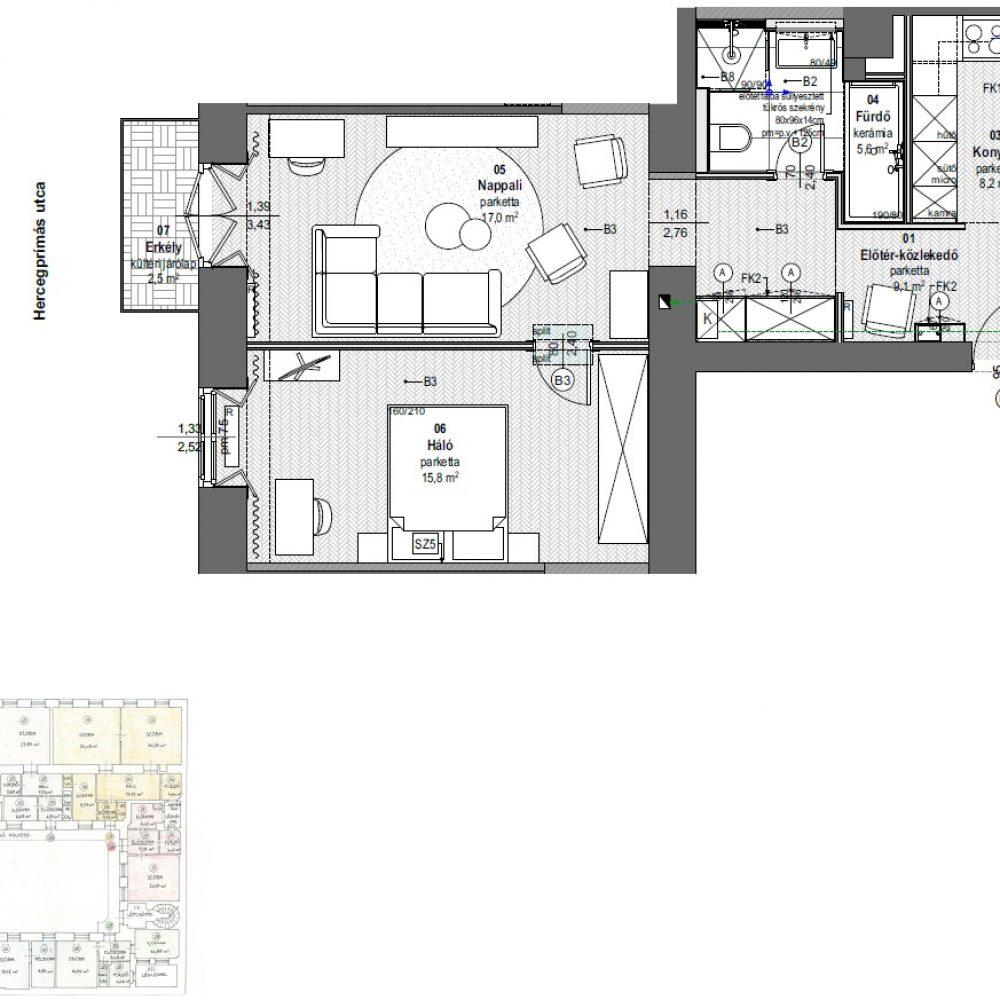 H21-2em_22 lakás_berendezési terv