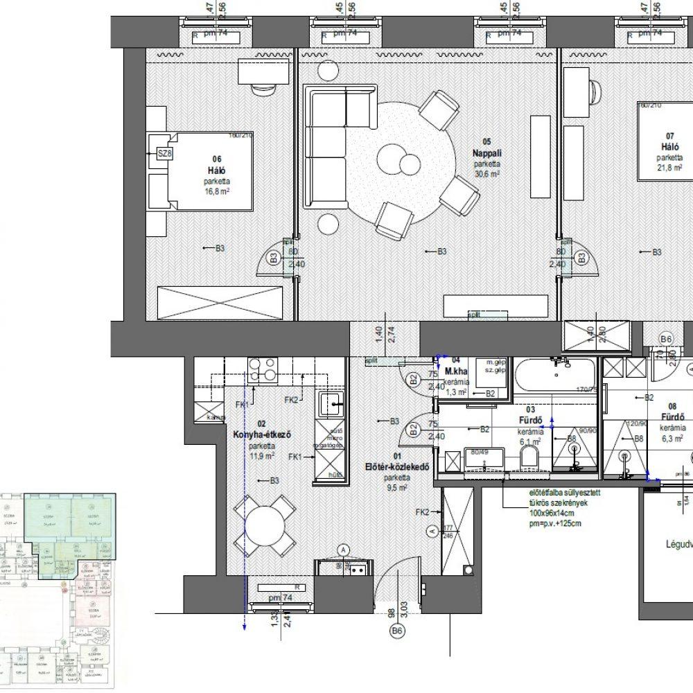 H21-2em_26 lakás_berendezési terv