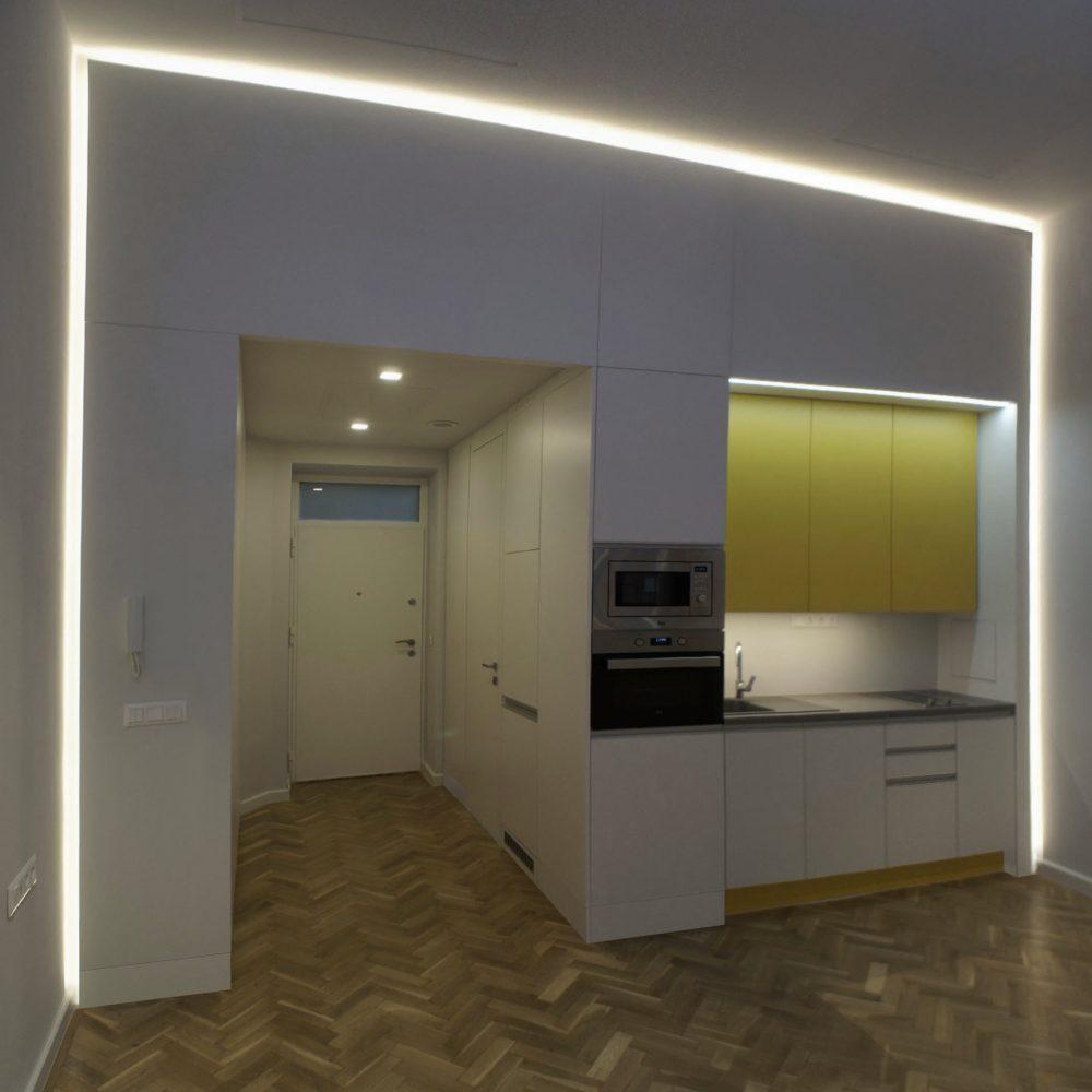 Garzon lakás kialakítása