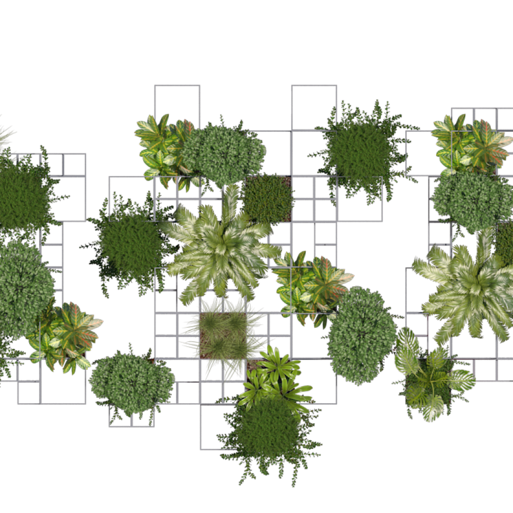 IMM pixel grid