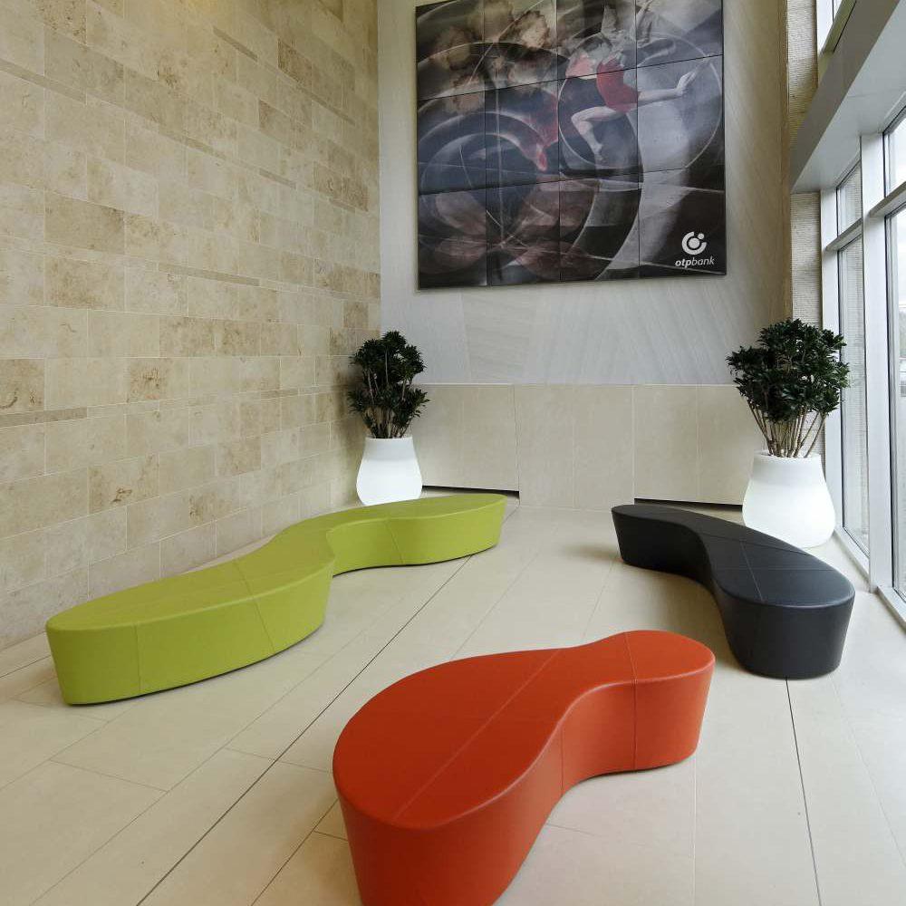 Az OTP Babér utcai székháza aula tereinek átalakítása