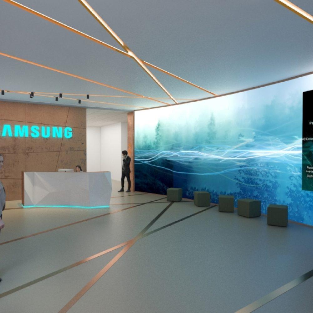 Samsung SDI elektromosjármű-akkumulátor gyár irodái  |  Göd, Hungary