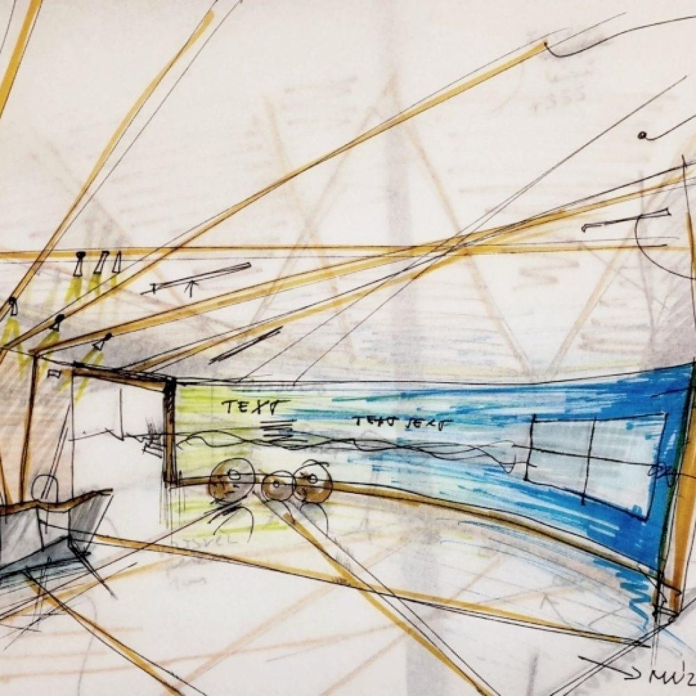 samsung SDI God - lobby sketch1000